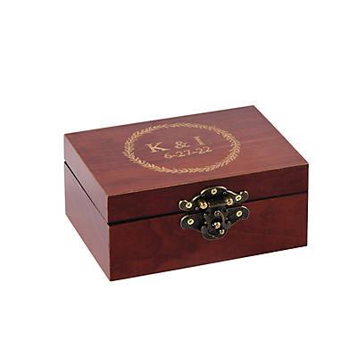 Personalized Wedding Ring Box