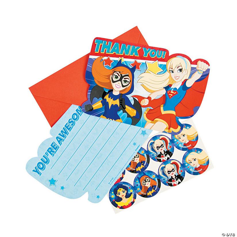 Dc Superhero Girls Thank You Cards Oriental Trading