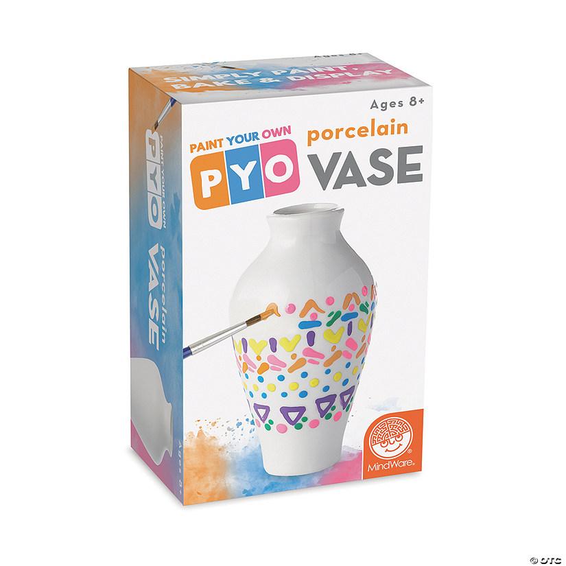 Paint Your Own Porcelain Vase Single