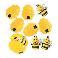 Busy Bee Finger Puppets   Oriental Trading