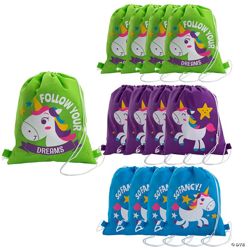 c156280a23f4 Medium Unicorn Drawstring Bags