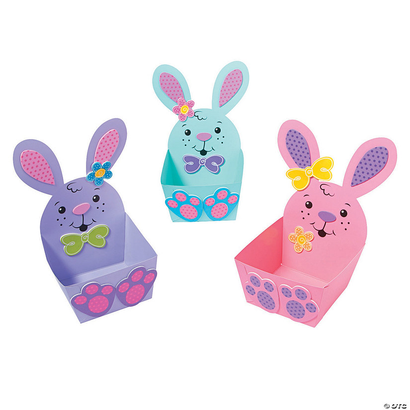 Easter Bunny Treat Basket Craft Kit Oriental Trading
