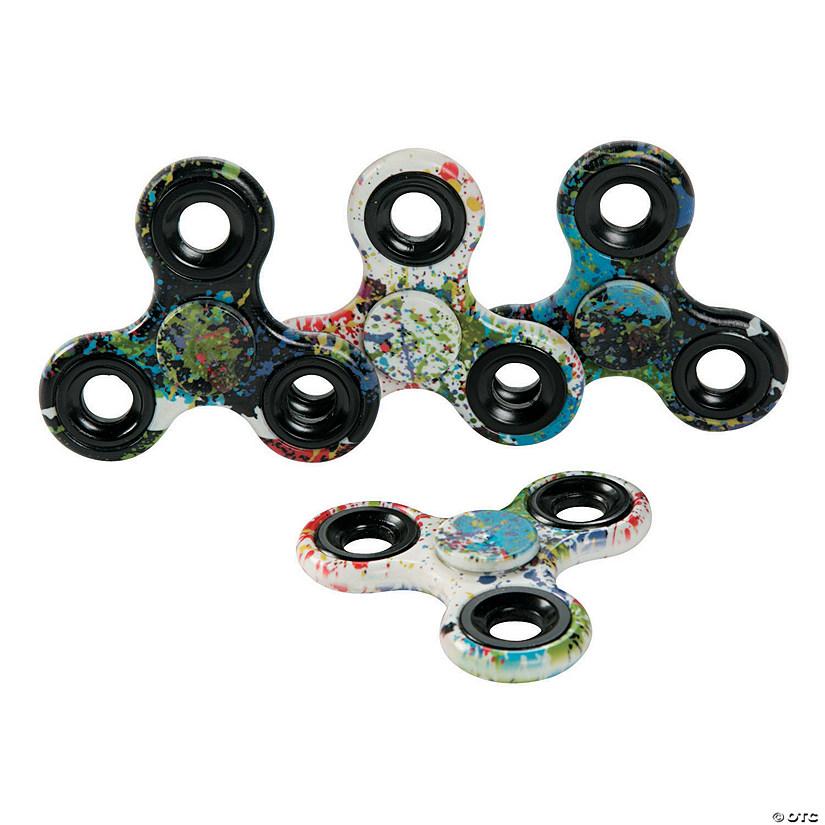 Paint Splatter Fidget Spinners Oriental Trading
