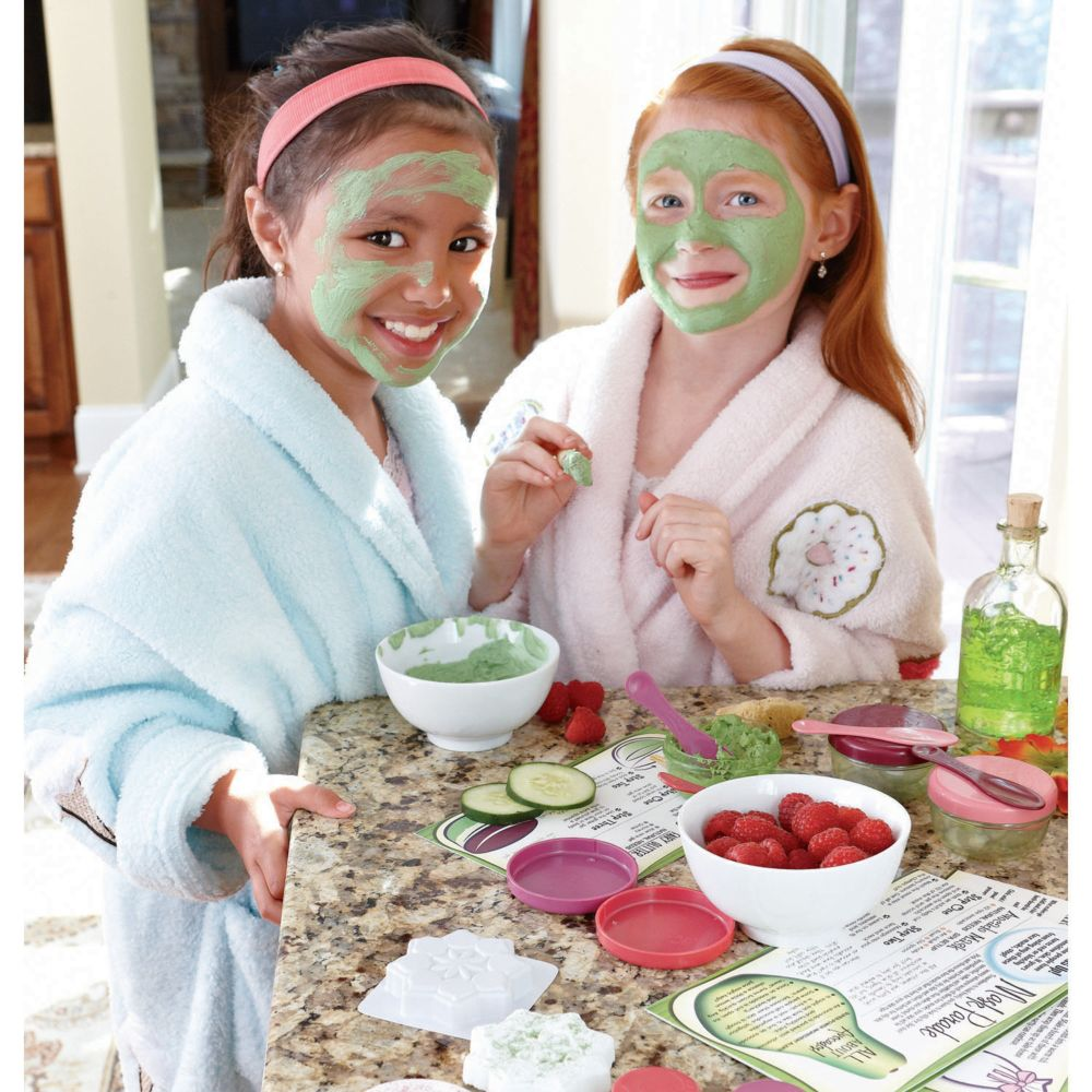 All-Natural Spa Day Deluxe Version From MindWare
