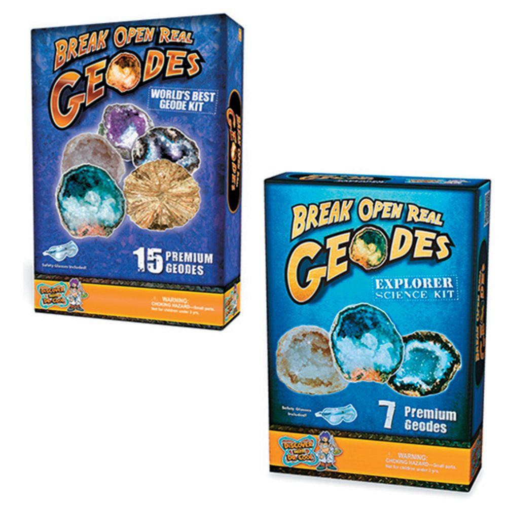 Break Open Geodes: Set Of 2 From MindWare