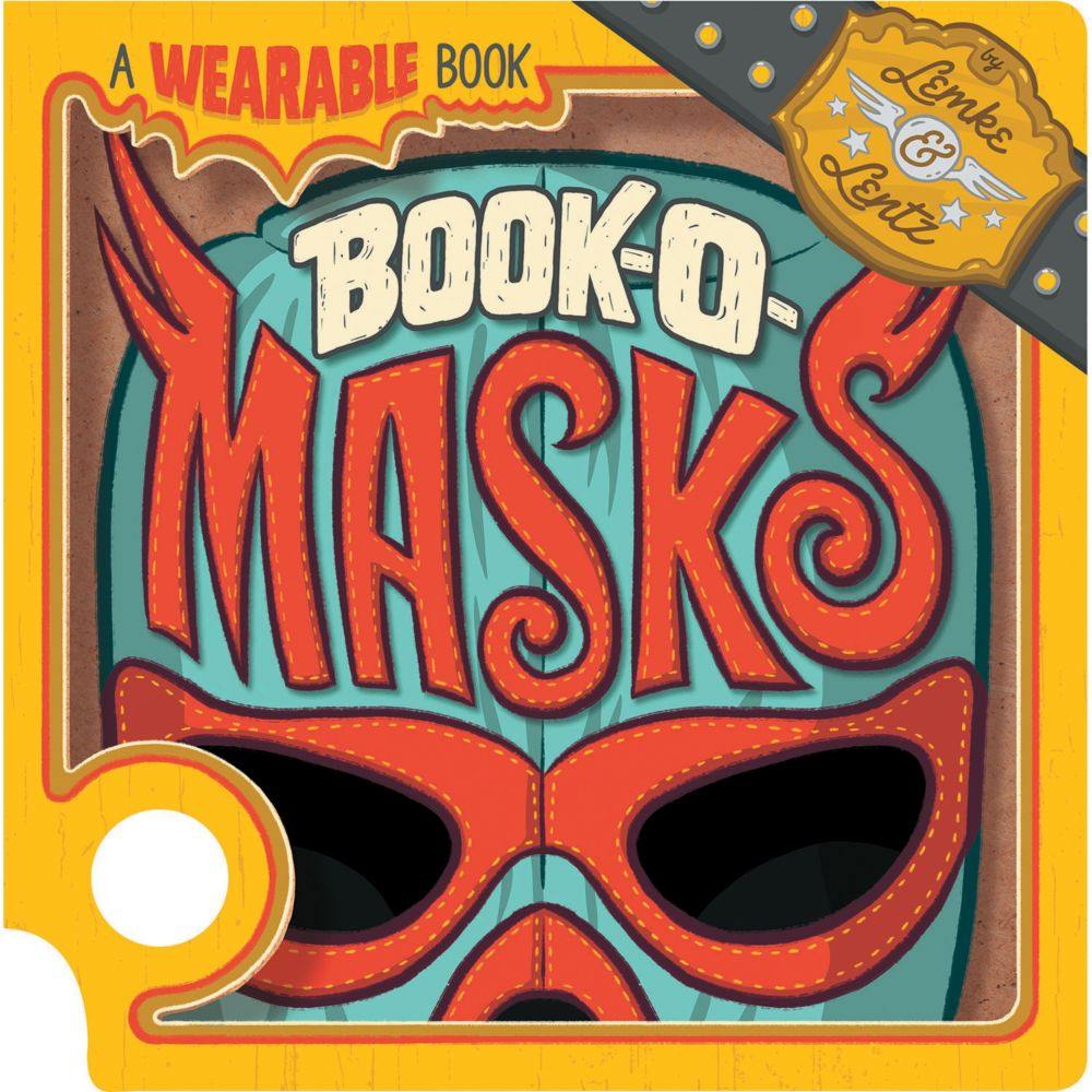 Book-O-Masks: A Wearable Book From MindWare