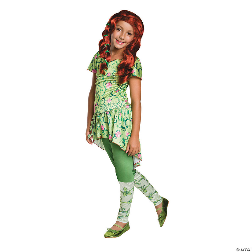 Girls Dc Superhero Girls Poison Ivy Costume