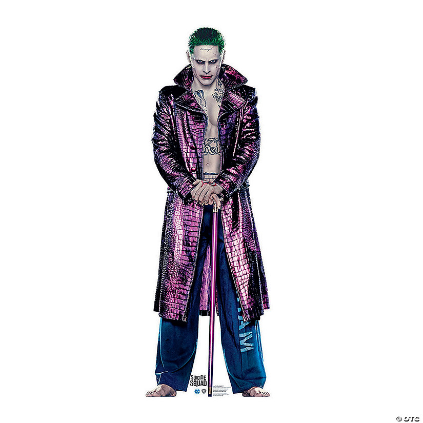 Suicide Squad Joker Halloween Costume.Suicide Squad The Joker Stand Up