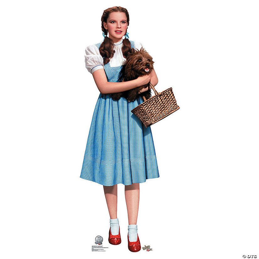 The Wizard of Oz™ Dorothy & Toto Stand-Up   Oriental Trading
