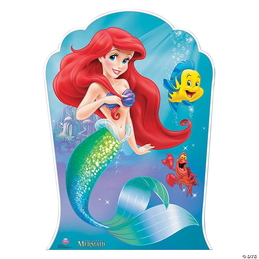 Disney's The Little Mermaid™ Ariel & Friends Stand-Up | Oriental Trading - photo#15