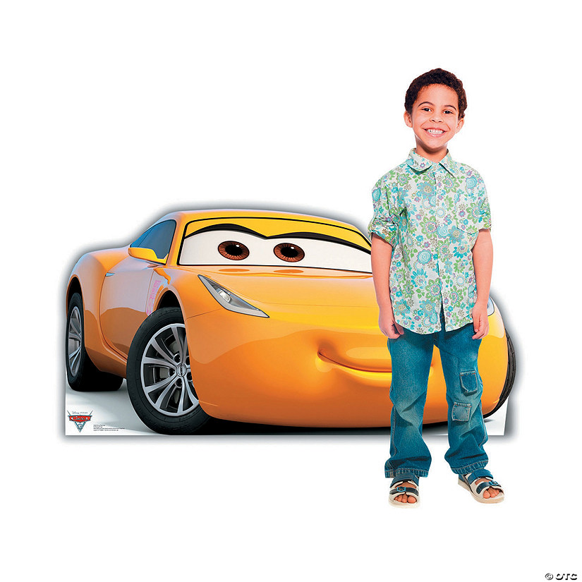 Disney S Cars 3 Cruz Ramirez Stand Up Oriental Trading