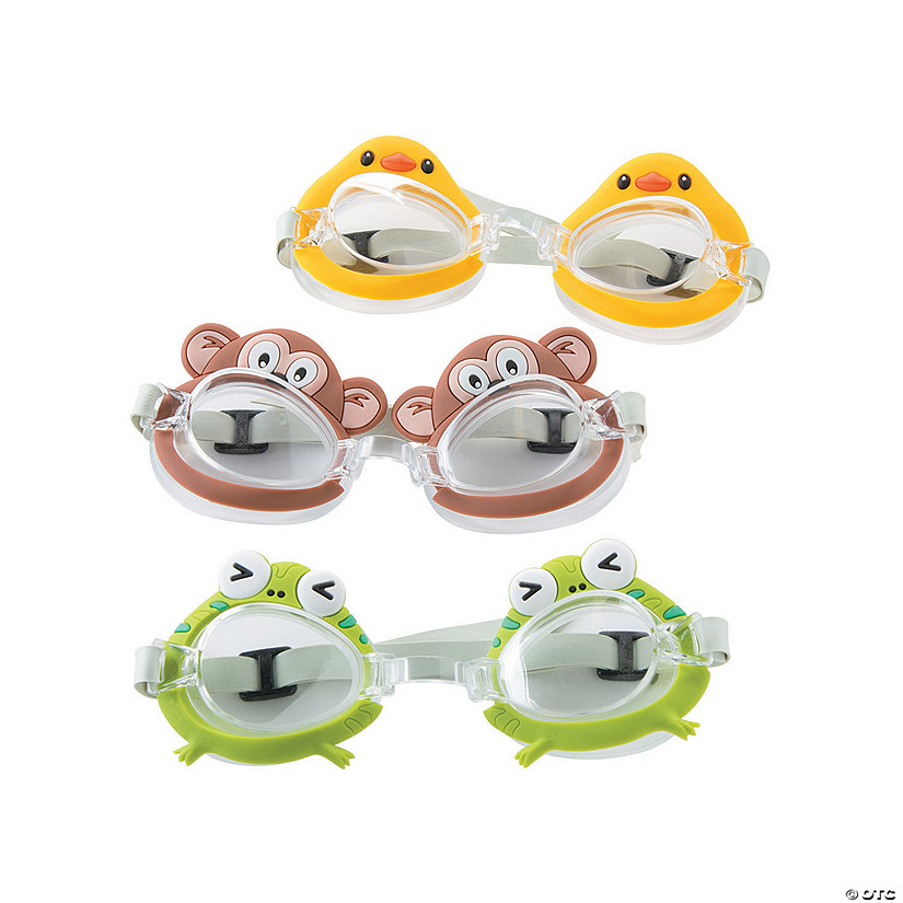 df8240459a74 Kids  Animal Swimming Goggles