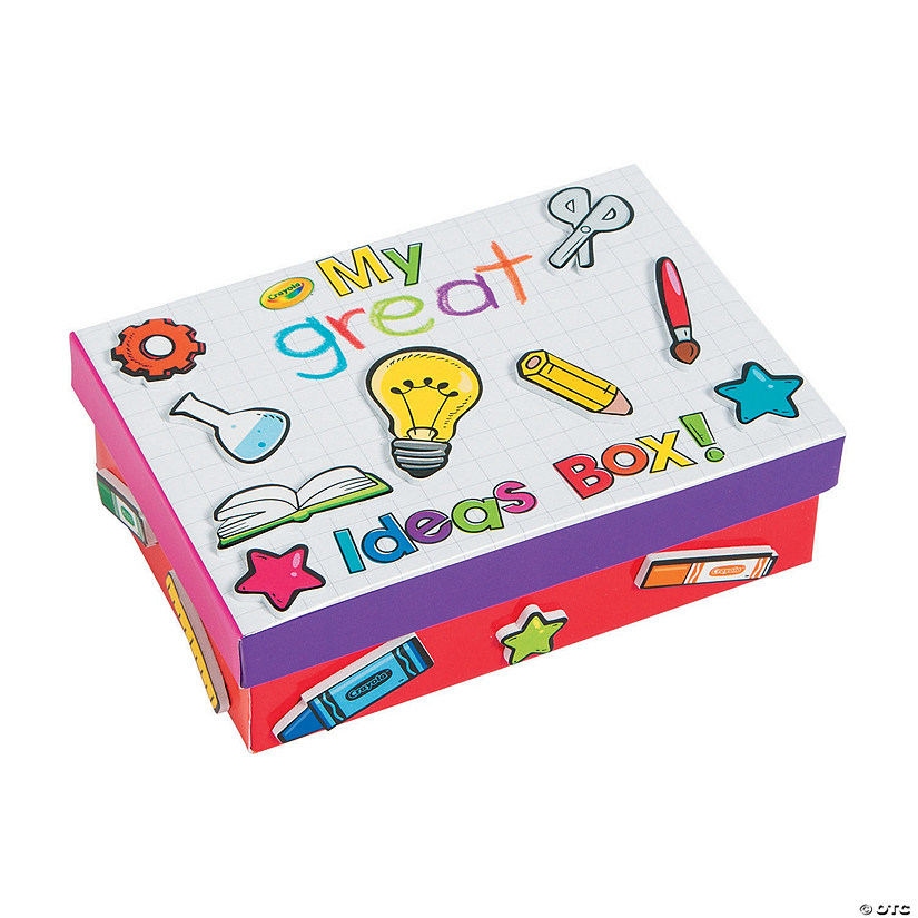 Crayola Sup Sup My Great Ideas Box Craft Kit Oriental Trading