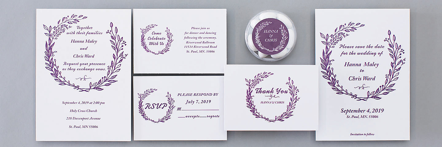 Laurel Leaf Stationery