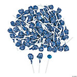 Blue Dum Dums<sup>® </sup>Solid Color Lollipops