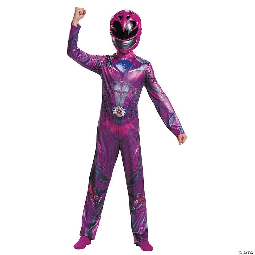 Girl S Classic Pink Power Ranger Costume
