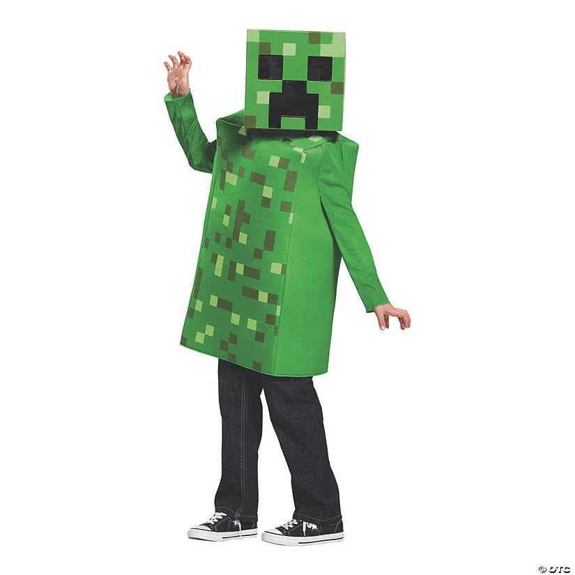 Kid's Classic Minecraft Creeper Costume