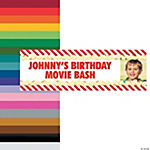 Custom Photo Movie Party Vinyl Banners