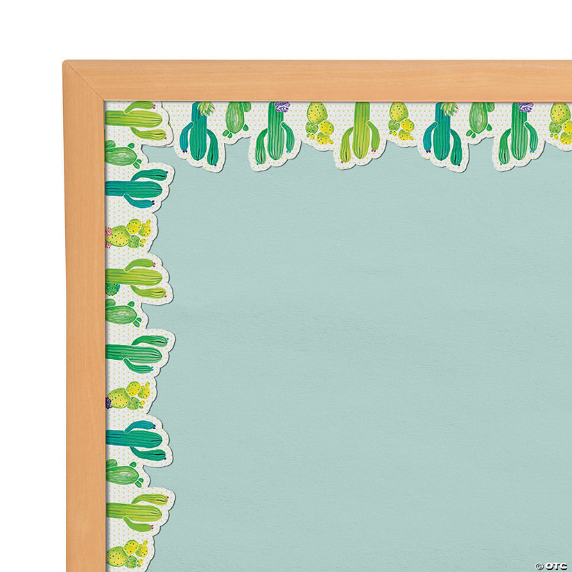 Cactus Bulletin Board Borders Oriental Trading