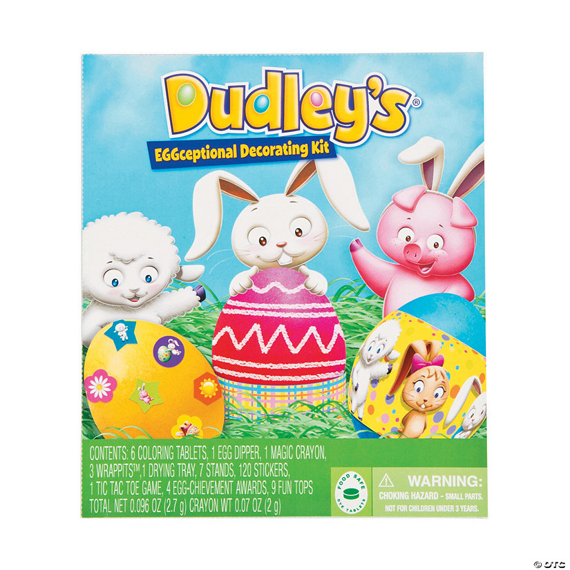 Dudley\'s<sup>®</sup> EGGceptional Easter Egg Decorating Kit ...