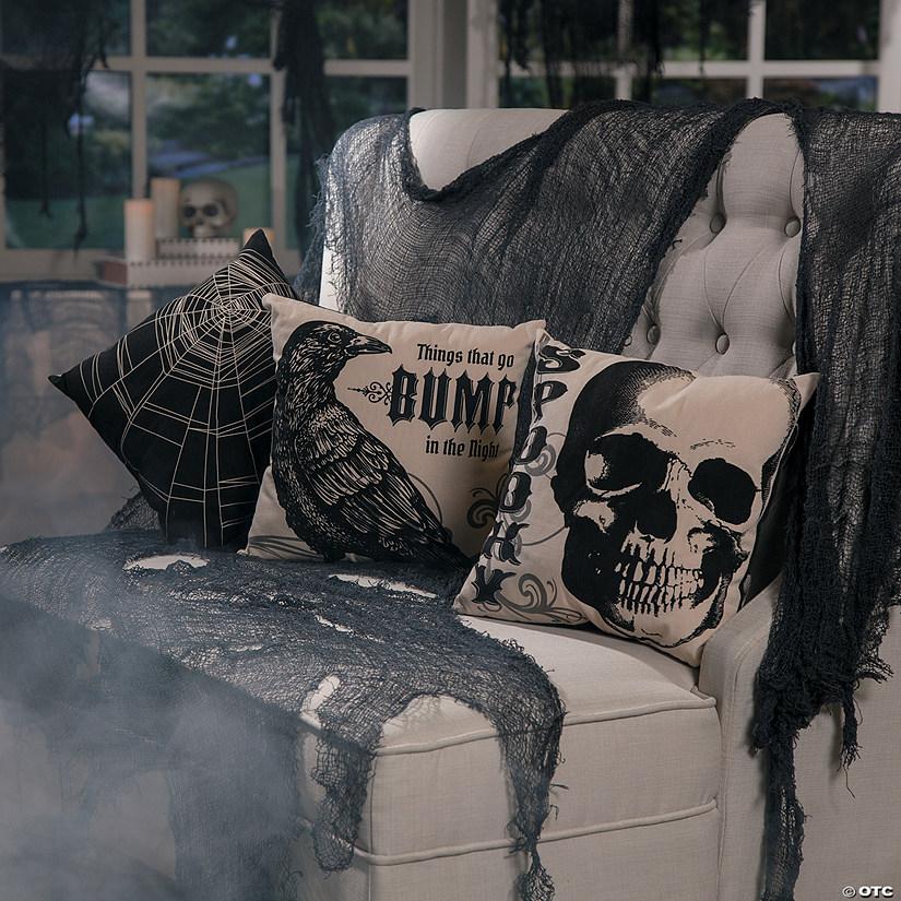 Vintage Throw Pillows Halloween Decorations