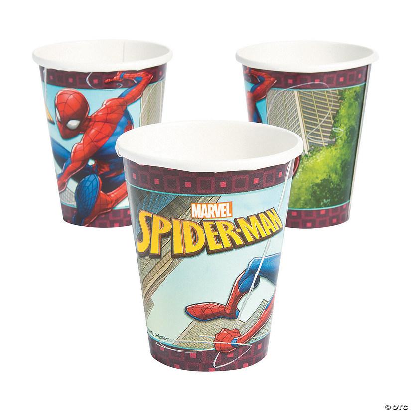 Comic Book Superhero Party Paper Cups x 8