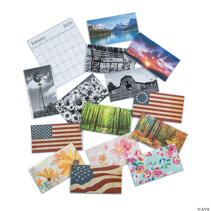 Purse Calendar 2020 2019   2020 Pocket Calendar Assortment   Discontinued