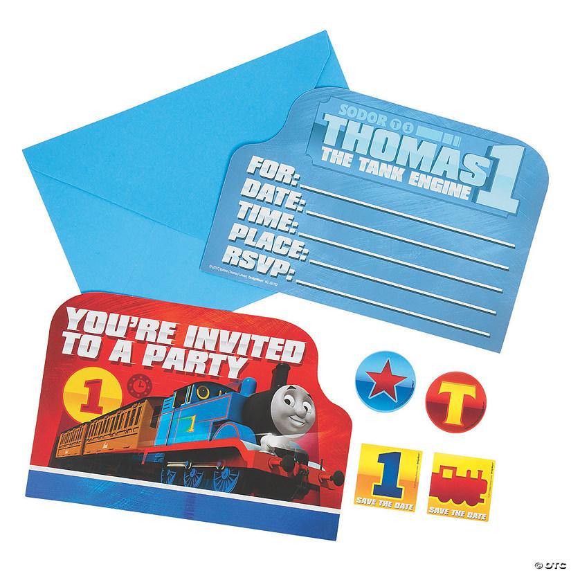 Thomas The Tank Engine Friends Invitations