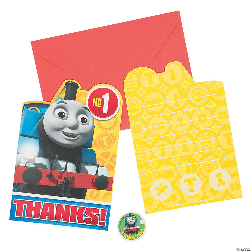 Thomas The Tank Engine Friends Thank You Cards