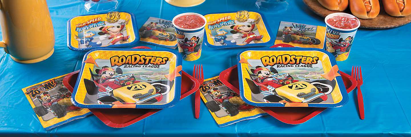 Mickey & the Roadster Racers Party Supplies