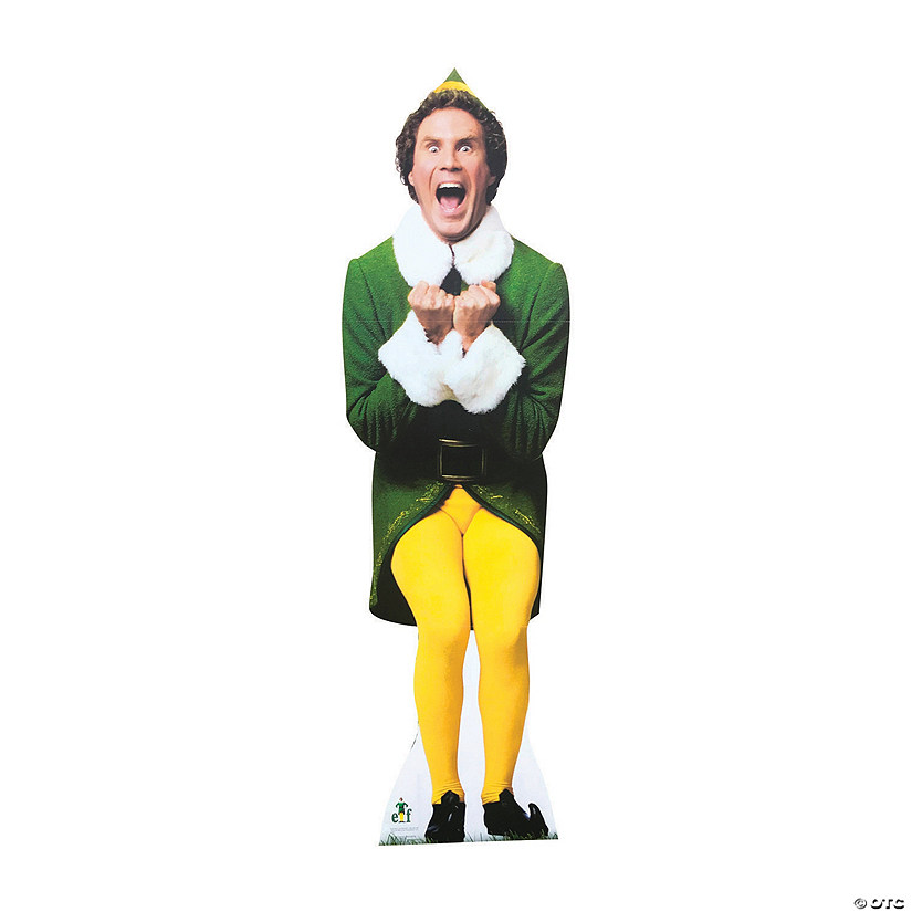 Buddy The Elf Outdoor Stand Up Oriental Trading
