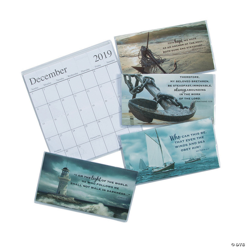 Light The World 2020 Calendar 2019   2020 Nautical Pocket Calendars   Discontinued