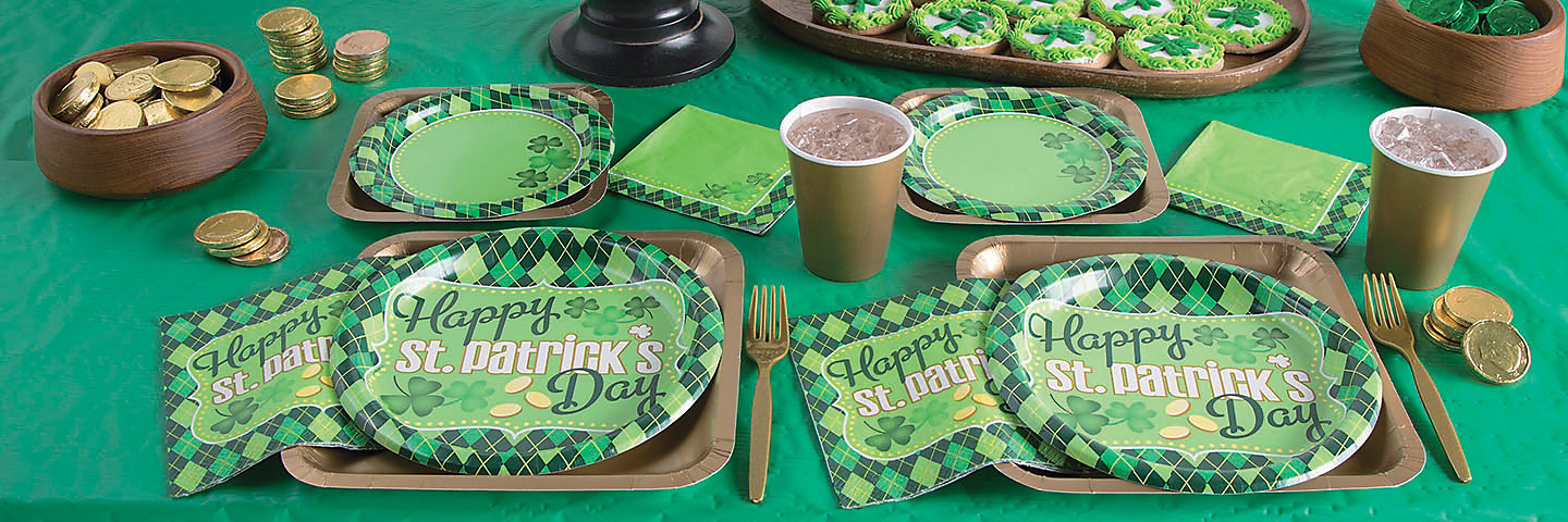 Argyle St Patrick S Day Party Supplies Oriental Trading
