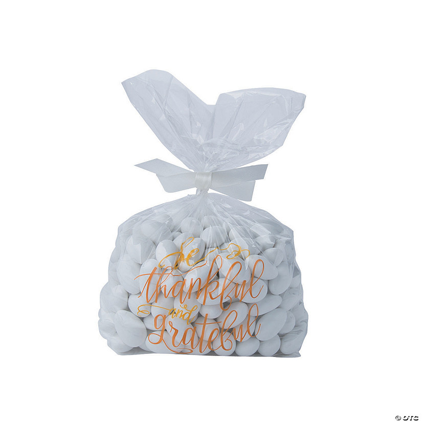 thoughts on affordable price finest selection Thankful Thanksgiving Cellophane Bags