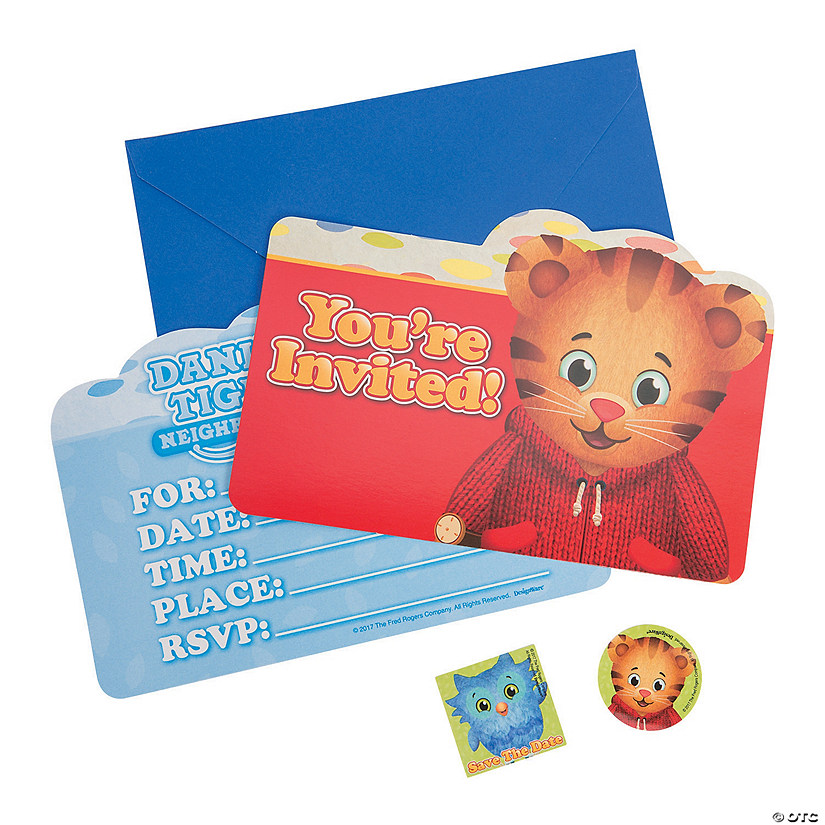 Daniel Tiger S Neighborhood Invitations Oriental Trading