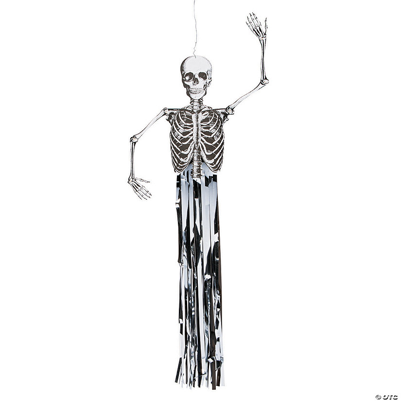 Jointed Hanging Skeleton Halloween Decoration