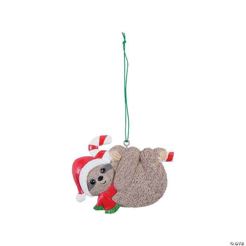 Christmas Sloth.Christmas Sloth Ornaments