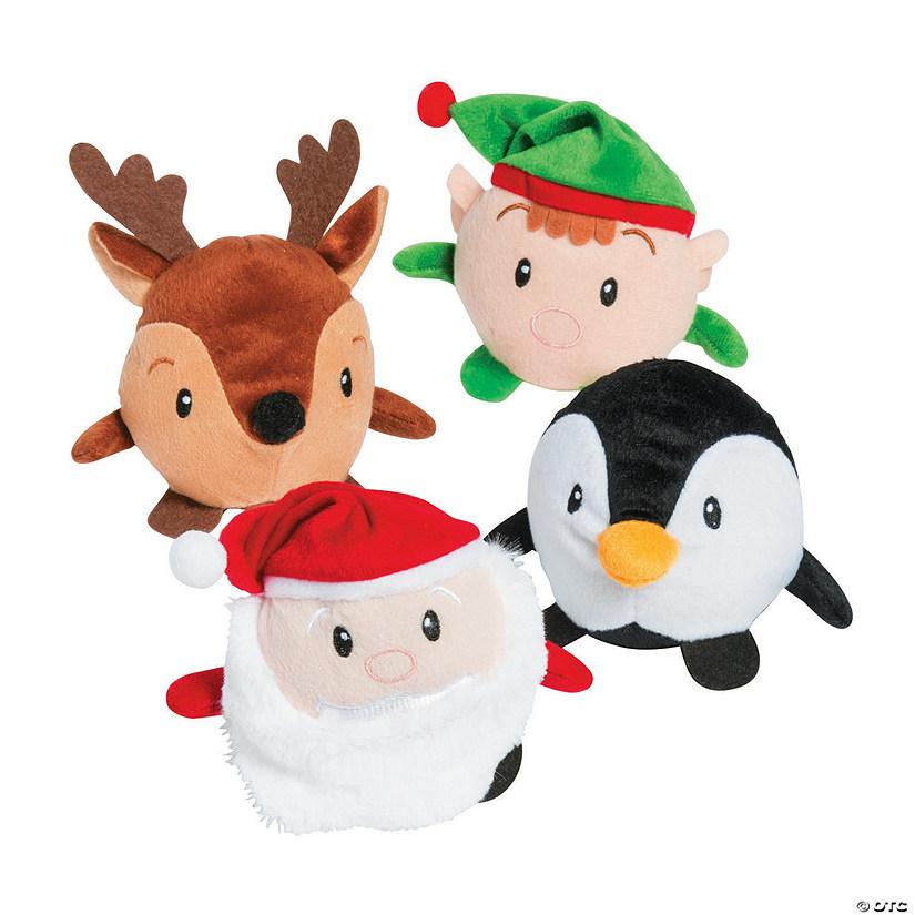 roly poly christmas plush characters - Christmas Plush Toys