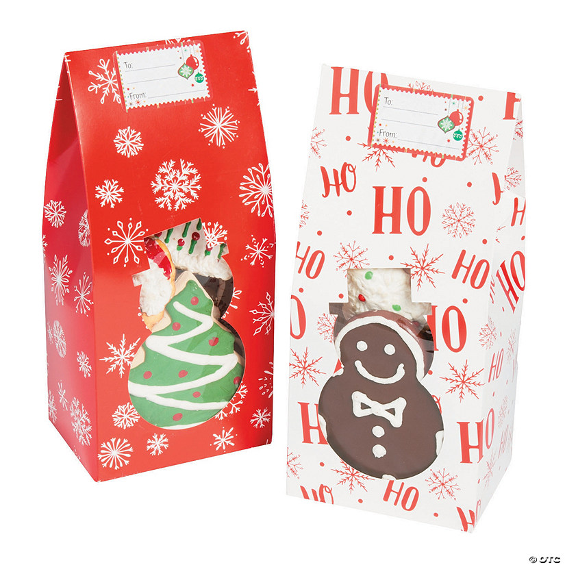 christmas cookie boxes