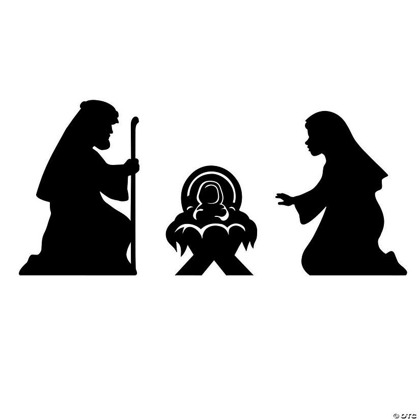Nativity Silhouette Cutouts Discontinued