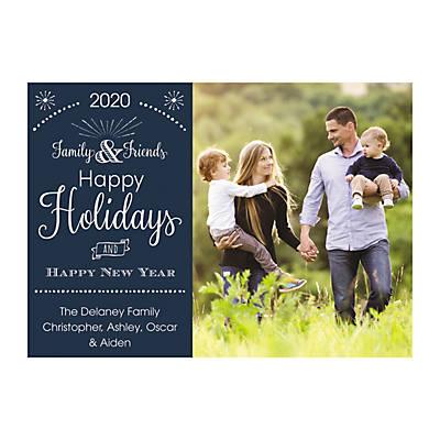 Custom Christmas Cards 2020 With Photo Custom Photo Family & Friends Christmas Cards | Oriental Trading