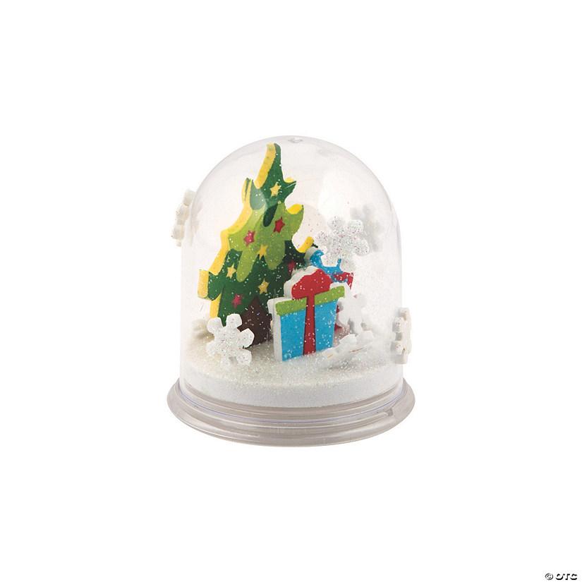 Christmas Snowglobes.Christmas Snow Globe Craft Kit