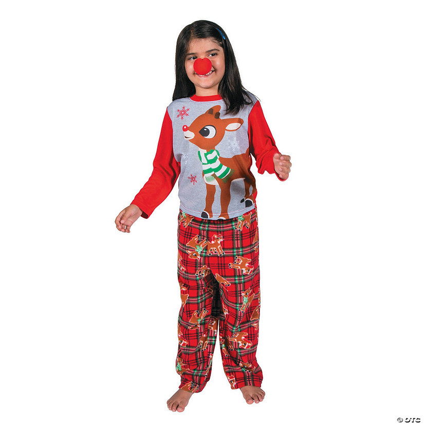 Kid s Rudolph the Red-Nosed Reindeer sup ®  sup  Pajamas fefde7379
