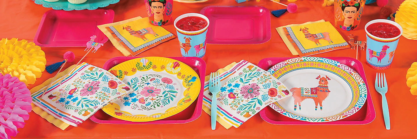 Boho Fiesta Party Supplies