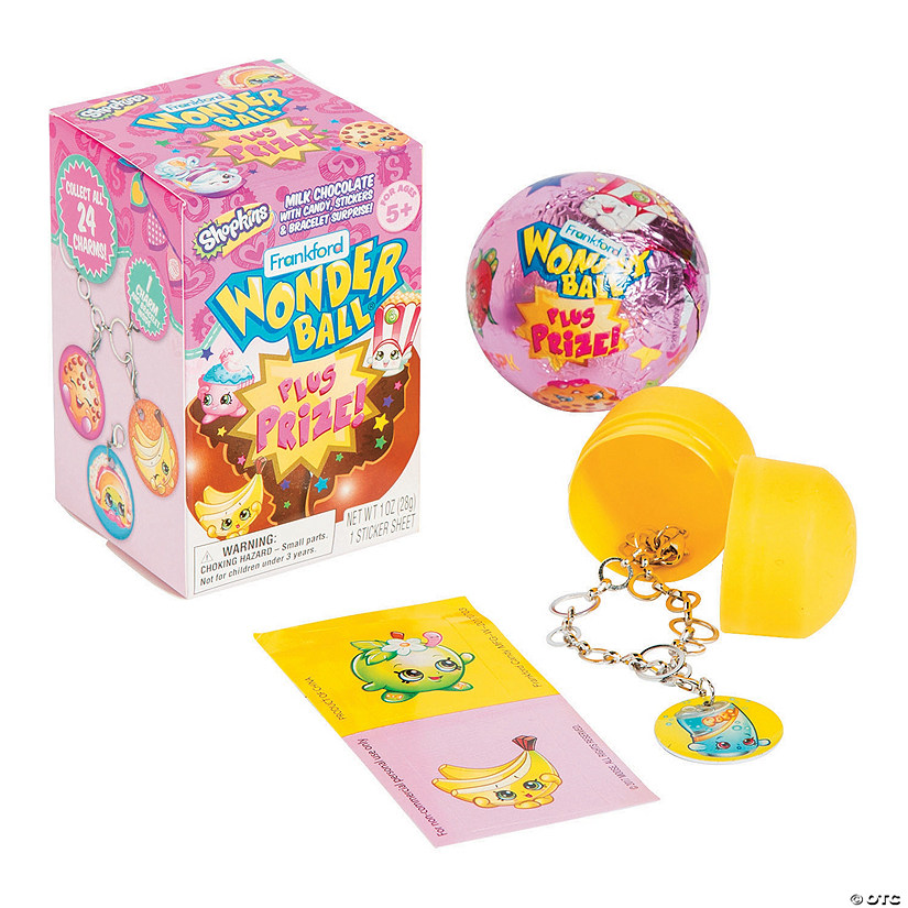 Shopkins Chocolate Wonder Ball Surprise Eggs