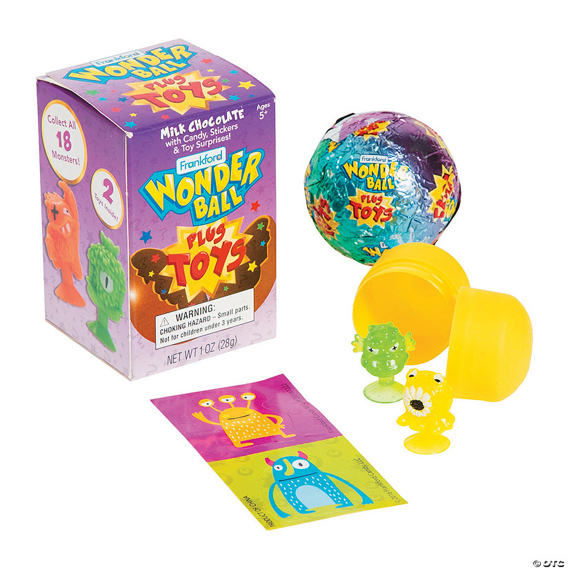 Monsters Chocolate Wonder Ball Sup Sup Surprise Eggs