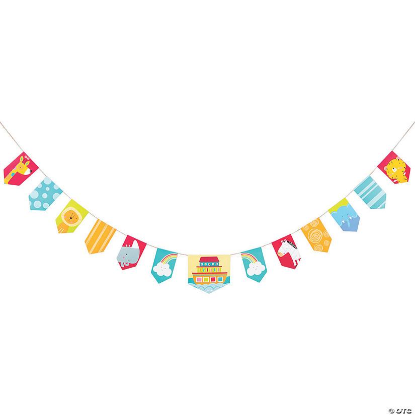 Noah's Ark Baby Shower Pennant Banner