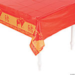 Year of the Pig Plastic Tablecloth