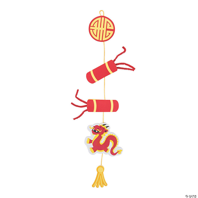 Year Of The Pig Chinese New Year Mobile Craft Kit