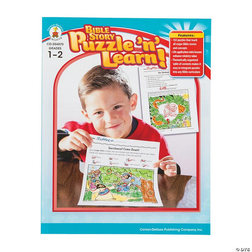 Carson-Dellosa™ Bible Story Puzzle 'n' Learn Book - Grades 1-2